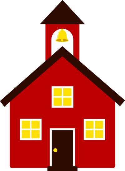 free clip art of an old fashioned little red school house sweet rh pinterest com school house clip art pictures school house clip art pictures