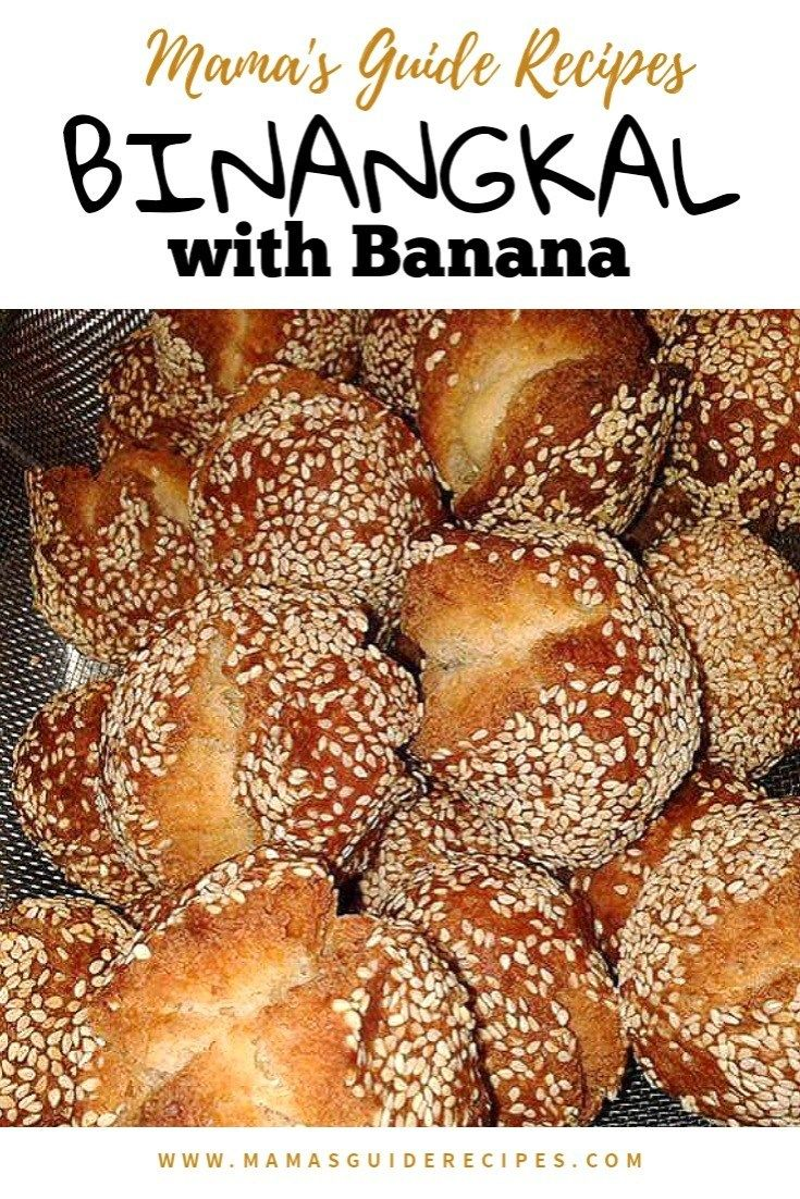 212 Recipe Yummy Delicious Banana Bread: BINANGKAL WITH BANANA - Mama's Guide Recipes