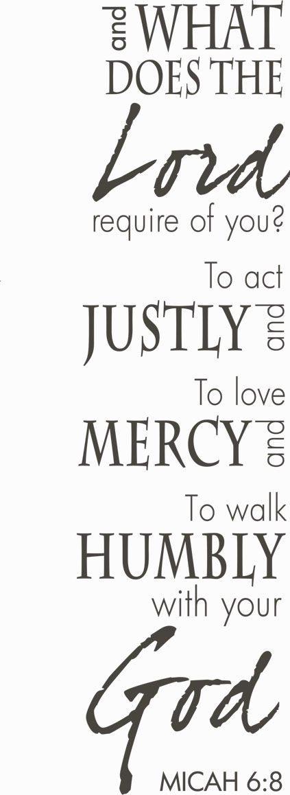 Act Justly Printable