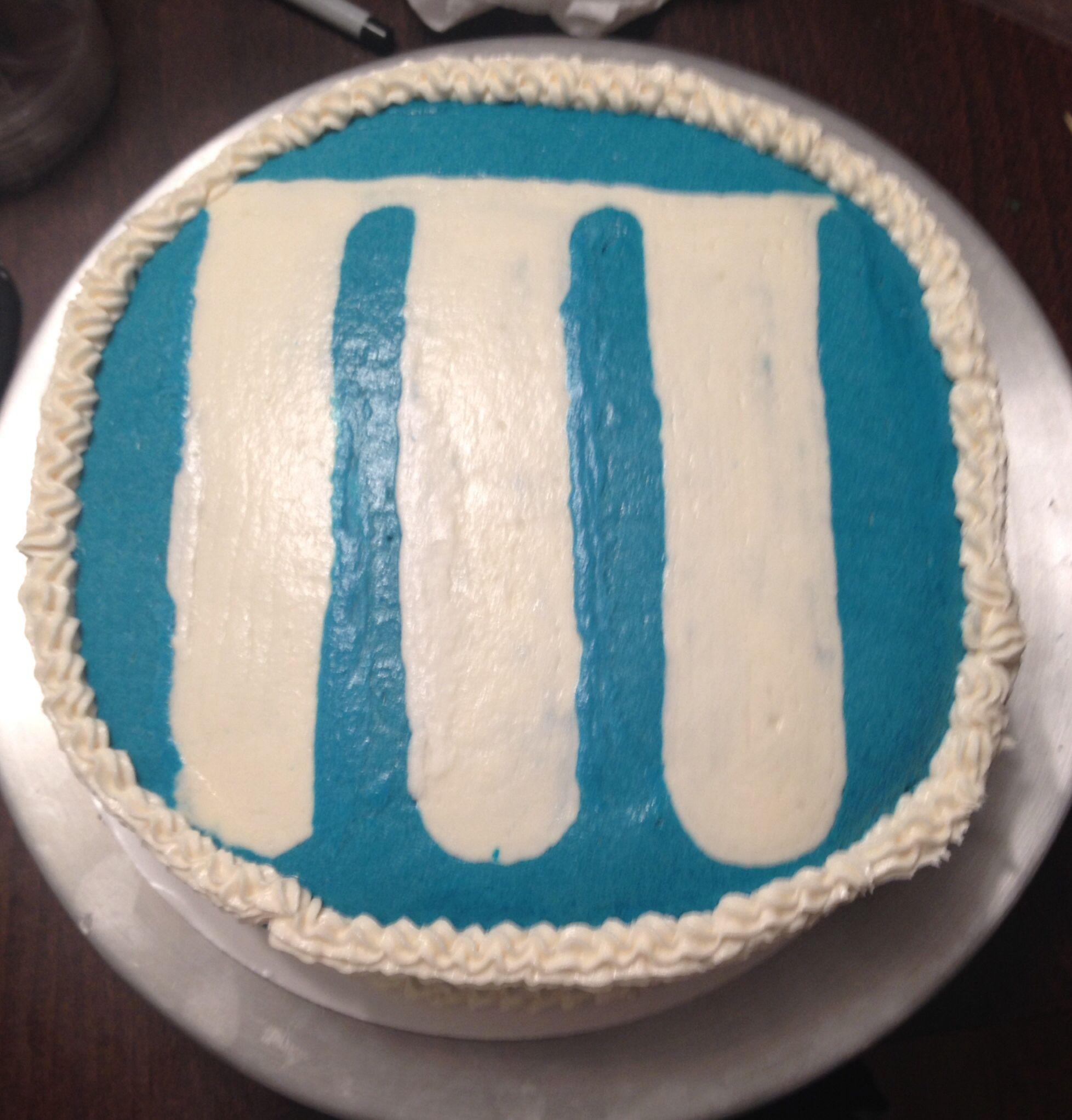 Mylan Logo cake | Cakes/Cupcakes | Cake, Cake logo, Cupcake cakes