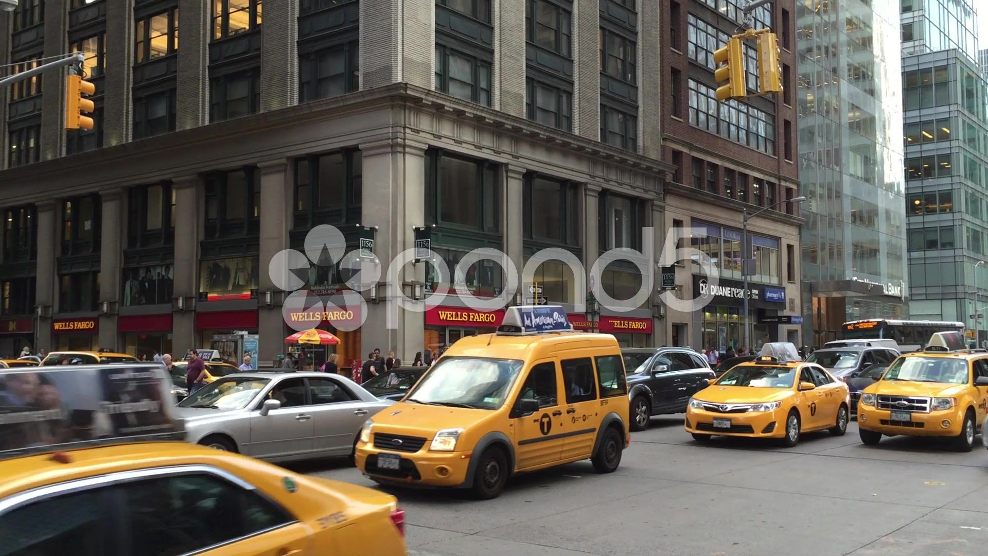 The Busy City Of Nyc New York Usa Stock Footage Nyc City Busy