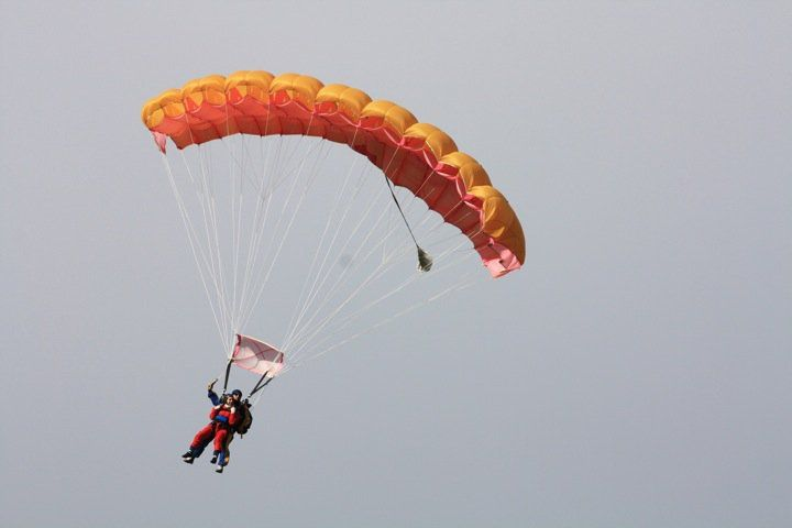 Skydiving en Taupo. $249 approx