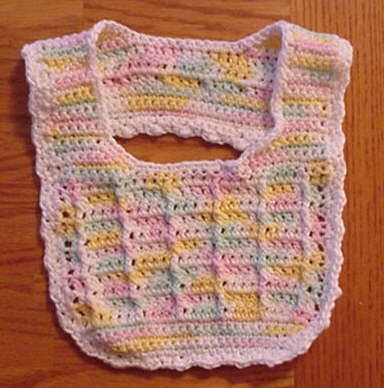 SlipoverBabyBib free crochet pattern From web.archive.org | crochet ...