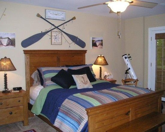 Lake House Theme Decor Decorating Design Guest Bedroom Ideas For The