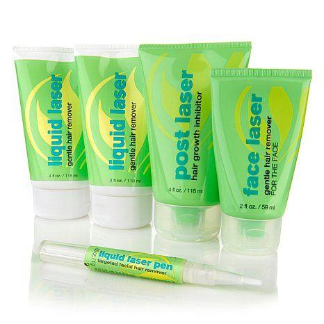 Serious Skincare Liquid Laser Hair Removal Kit Liquid Hair Cosmetic Dentistry Veneers Dental Cosmetics