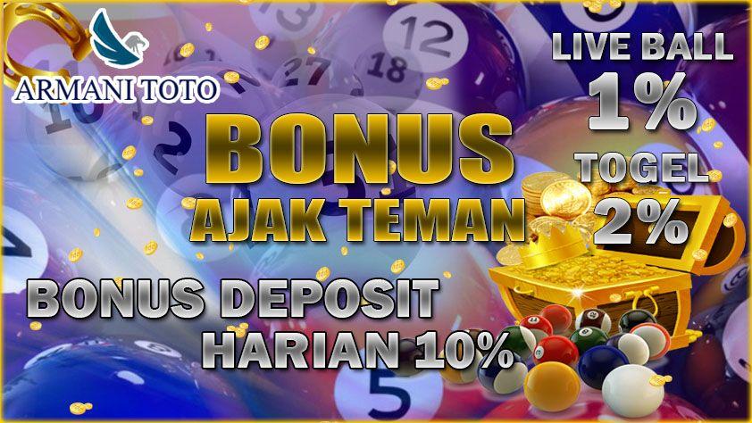 ♠ Bandar togel bonus deposit harian