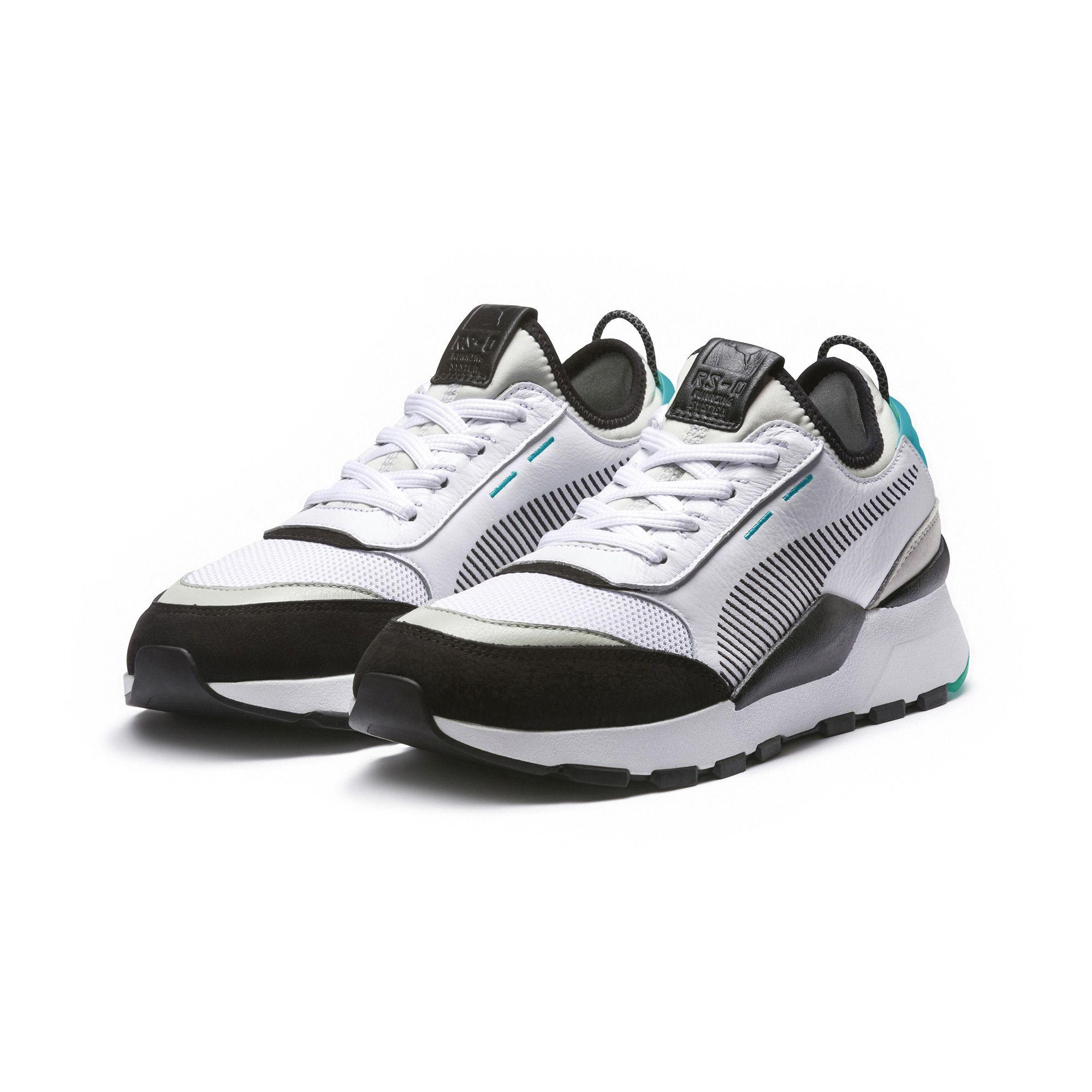 sports shoes 0288e d3796 RS-0 RE-INVENTION Sneakers   White-GrayViolet-BiscayGreen   PUMA New  Arrivals   PUMA United States