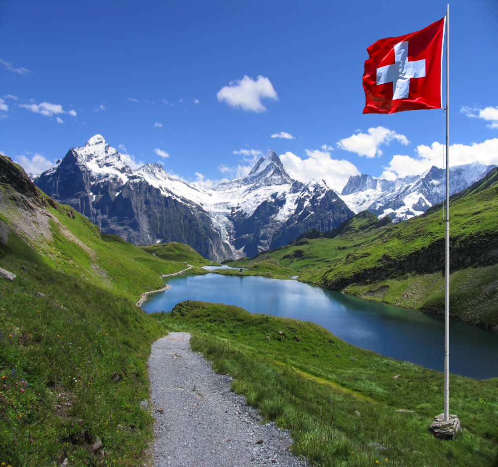 Von Dänemark In Die Schweiz