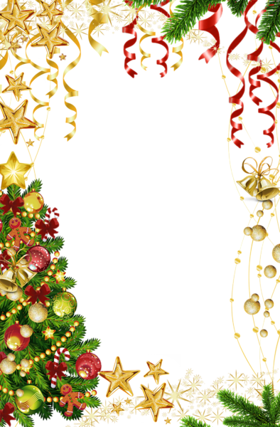 Frames And Borders Christmas Art Clip Garland