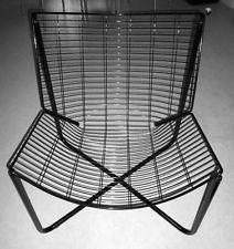 fauteuil en metal noir filaire ikea
