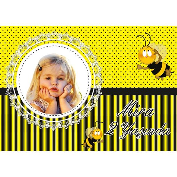 Sevimli Arı Kişiye Özel Amerikan Servis 15-li