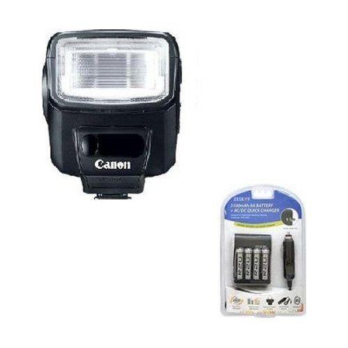 Canon Speedlite 270ex Ii Flash For Canon Slr Cameras W Ac Dc Charger Slr Camera Camera Camera Flash