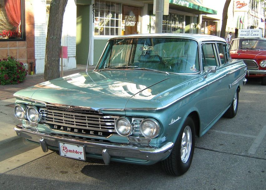 1962 3rd Gen Rambler Ambassador 2 Door Sedan 5 4l V8 Engine