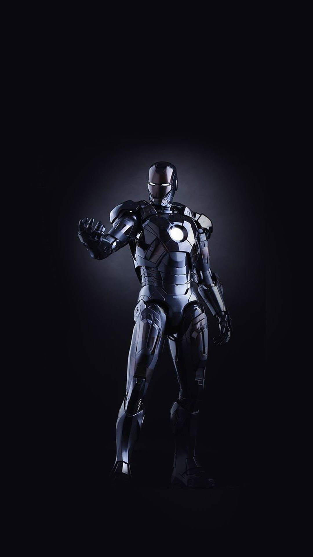 Wallpaper iphone hq - Ironman Dark Figure Hero Art Avengers Iphone 6 Wallpaper