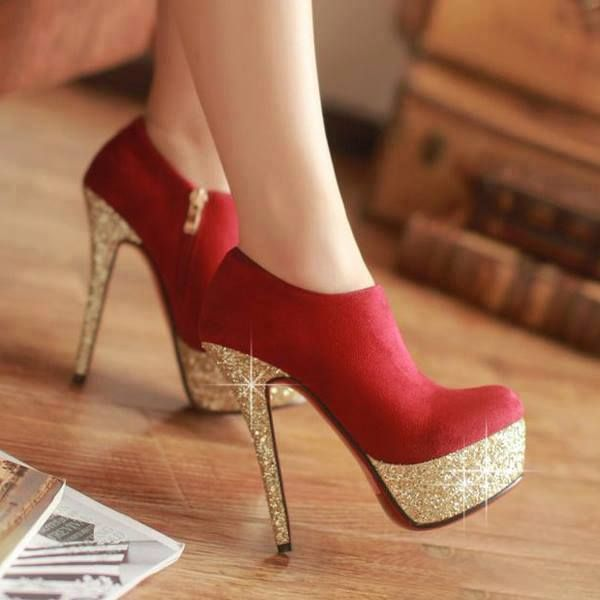 beautiful heels | QueenDiva22 | Pinterest | Beautiful heels, Red ...