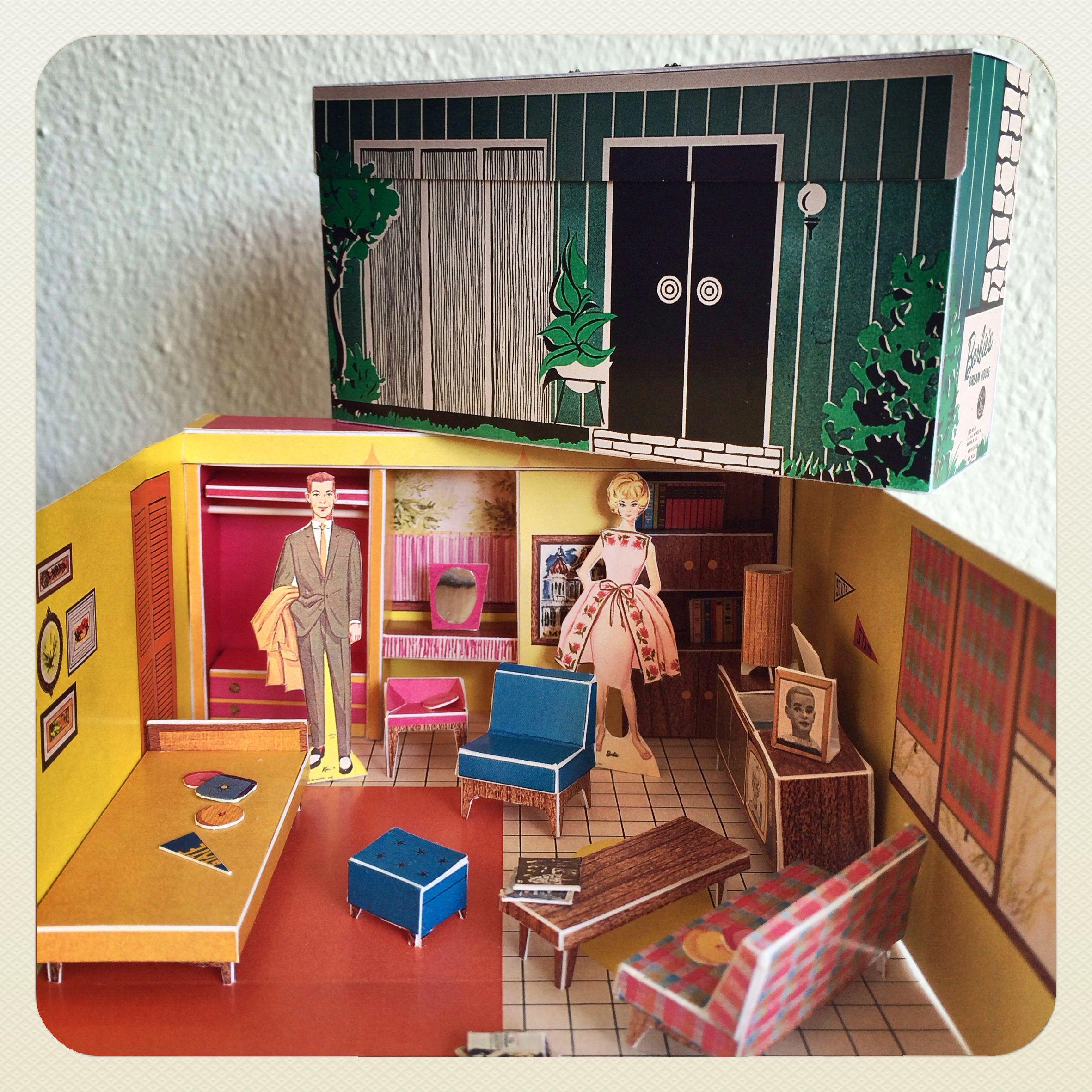 Barbie And Ken In Their Dreamhouse Barbie Dream House Vintage