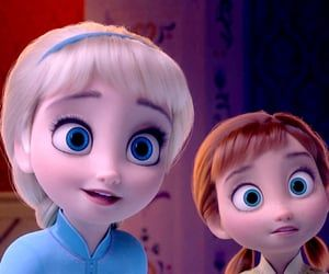 elsa and anna uploaded by padfoot on We Heart It