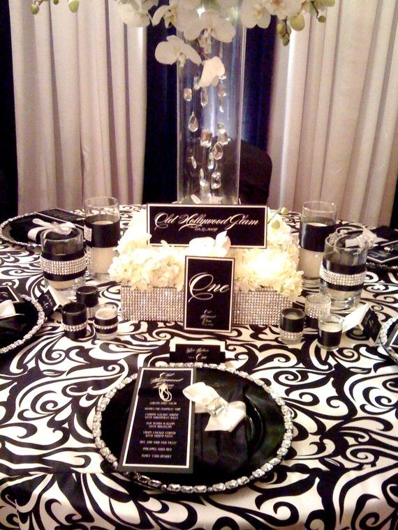 I Like This Kind Of Style For My Bridal Shower Some Day Black