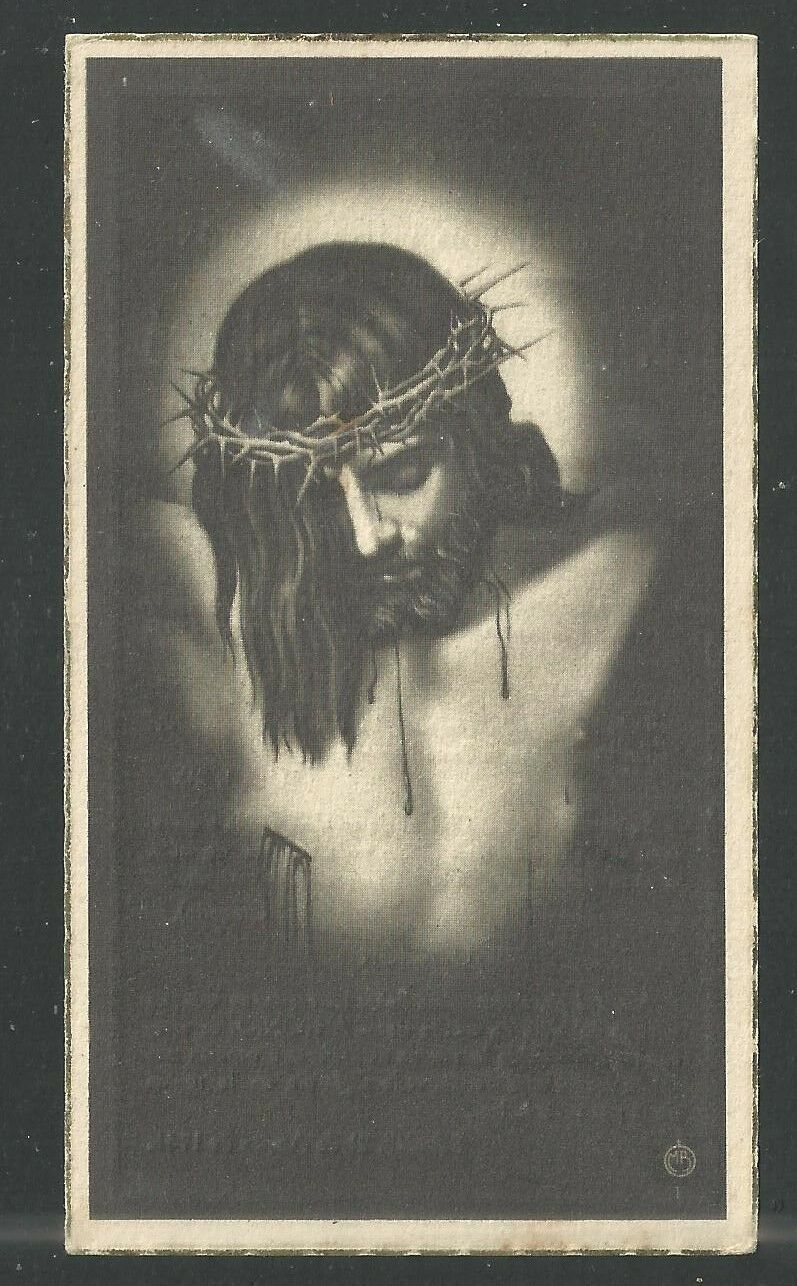 Holy Card Antique De Jesus Santino Image Pieuse Estampa Christentum Katholisch Glaube