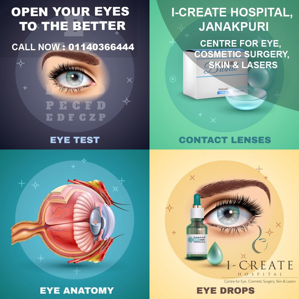 Eye Care has been set up with a vision to be a onestop