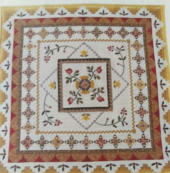 Margaret Cormack's Sunburst Country from Australian Patchwork & Quilting