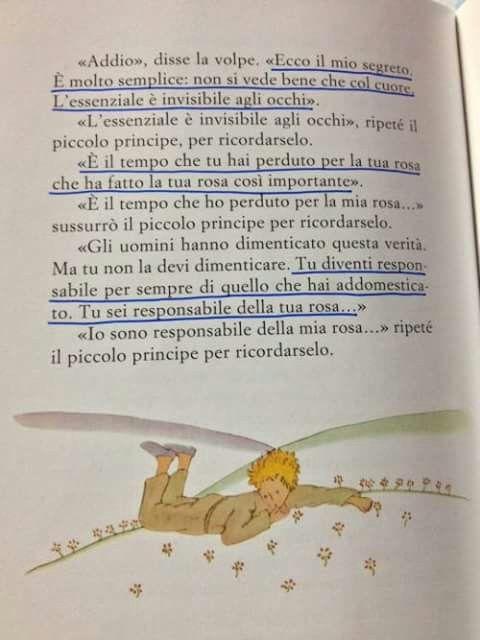 Antoine De Saint Exupery Il Piccolo Principe Il Piccolo