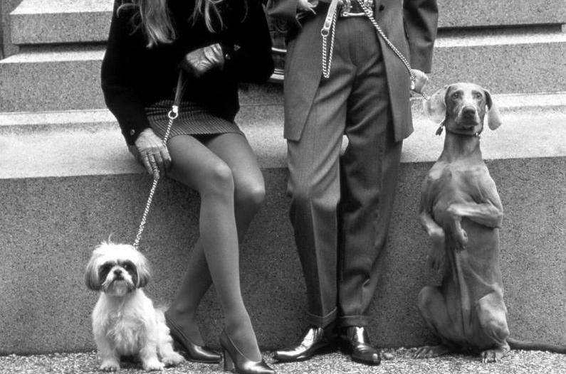 Photography and Jazz Lovers — USA. New York City. 1991. Dogs @Elliott Erwitt #elliotterwitt