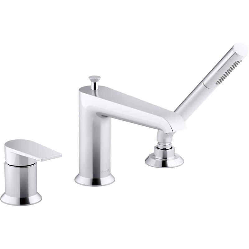 Kohler K 97070 4 In 2020 Roman Tub Faucets Tub Faucet Clawfoot