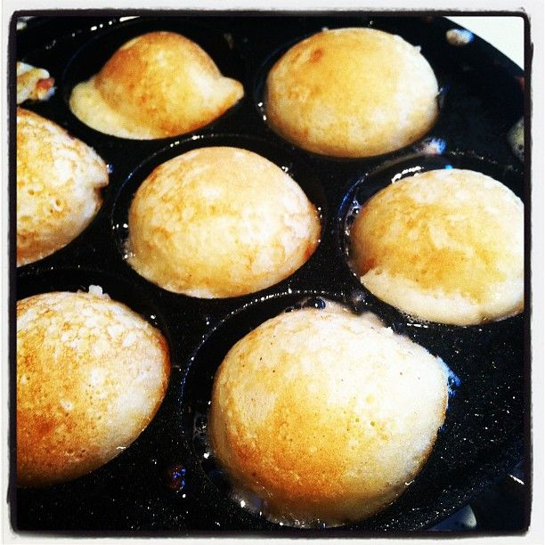 Just What I Squeeze In Real Danish Aebleskiver By Popular Demand Fun Baking Recipes Aebleskiver Recipe Food