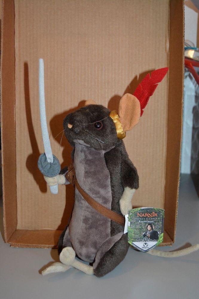 Nwt Narnia Reepicheep Stuffed Animal Movies Amp Tv