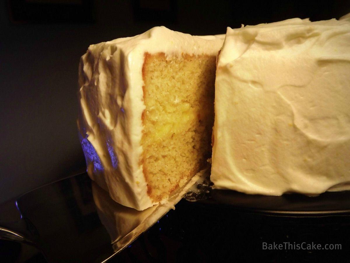 A classic us comeback cake called the Helen of Troy Orange Cake