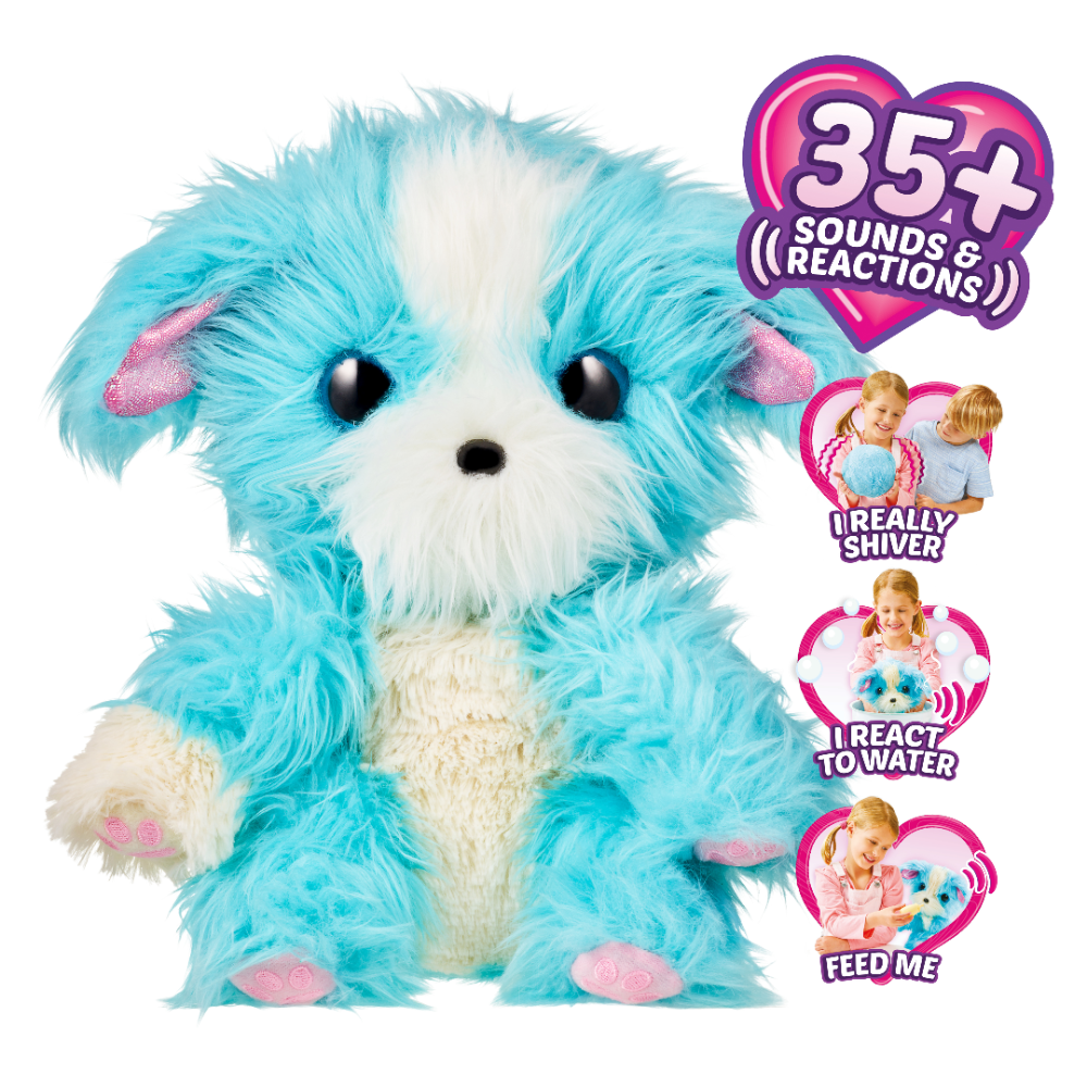 Free 2 Day Shipping On Qualified Orders Over 35 Buy Little Live Scruff A Luvs Plush Mystery Electronic Real Rescue Pet At Little Live Pets Luvs Animal Rescue