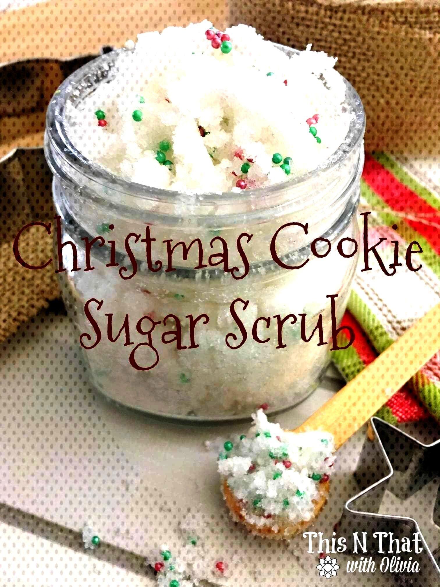 Cookie Sugar ScrubChristmas Cookie Sugar Scrub Bath Soaks 4 Ways // Make me, indeed! Amy shares g