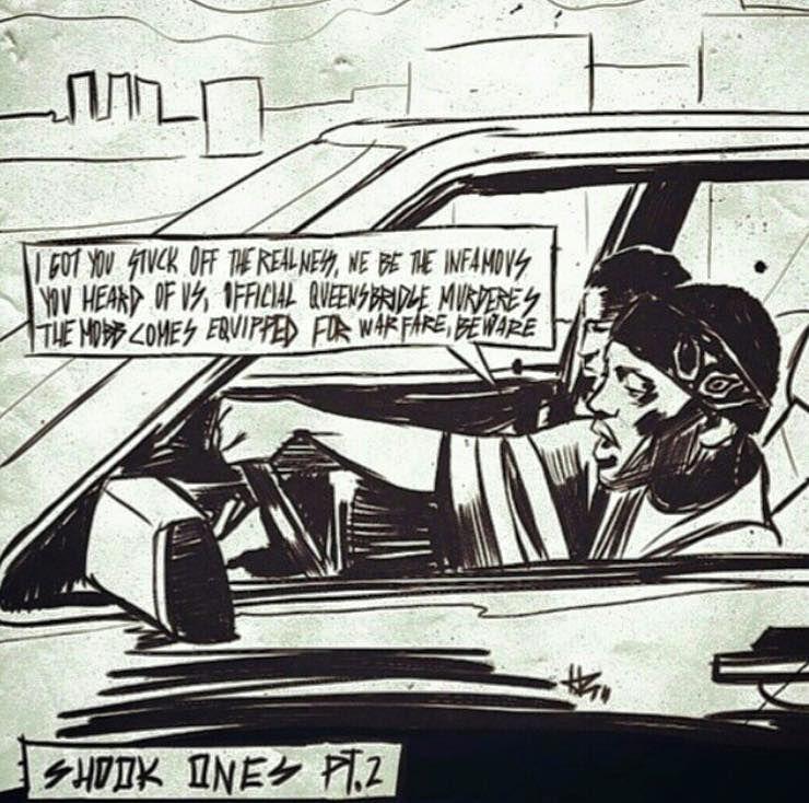 "Lyric mobb deep shook ones part 2 lyrics : Mobb Deep - ""Shook Ones, Pt. 2 | Dope (Hiphop) Artwork | Pinterest ..."