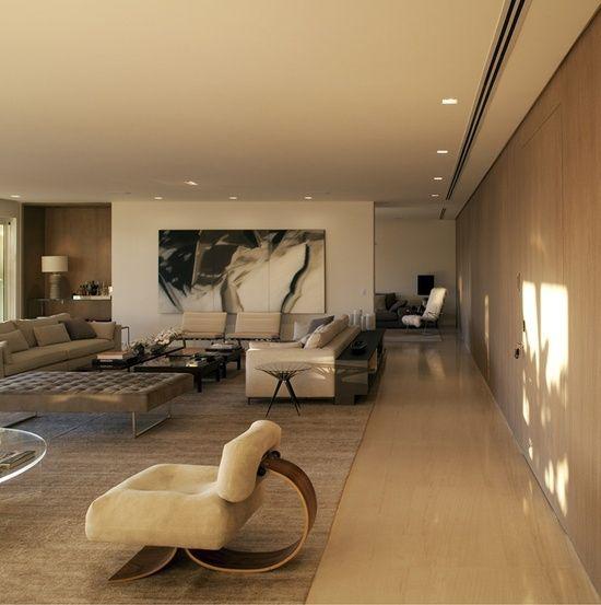 Arthur Rutenberg Homes Custom Home Design Living Area: Living Room At The MD Pacaembú By Studio Arthur Casas