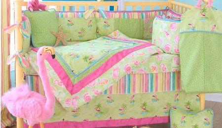 Glenna Jean Lilly Pulitzer Florida Style Baby Crib Bedding