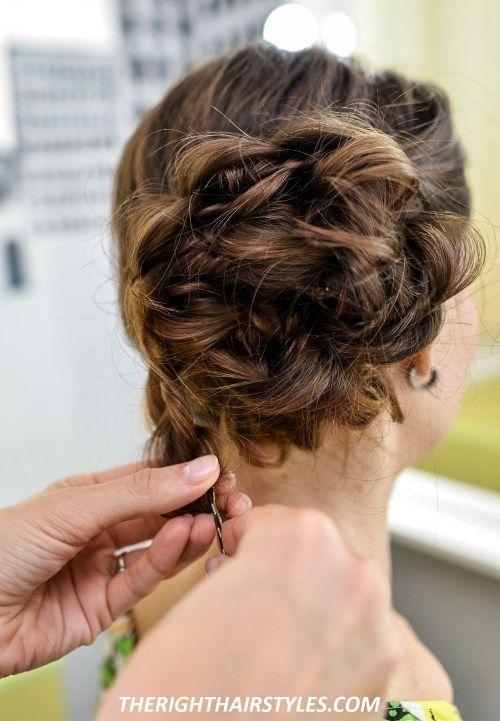 3 lovely bun hairstyles for fine hair | dutt frisur