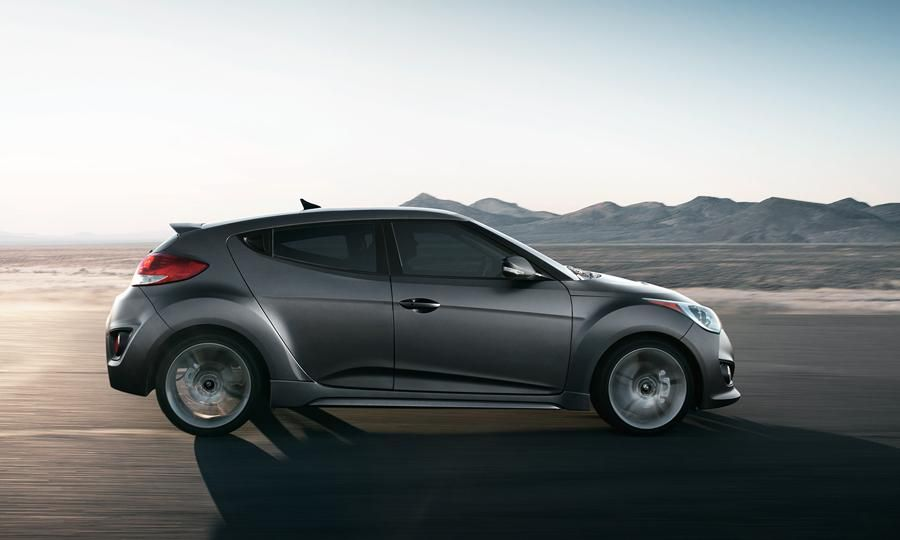 The 2013 Hyundai Veloster Turbo Is Sitting On A Set Of Michelin Pilot  Super Sport