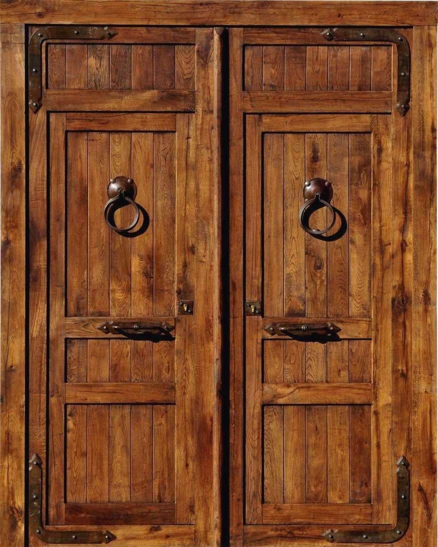 Puerta exterior-rustica | puertas | Pinterest | Puertas exterior ...