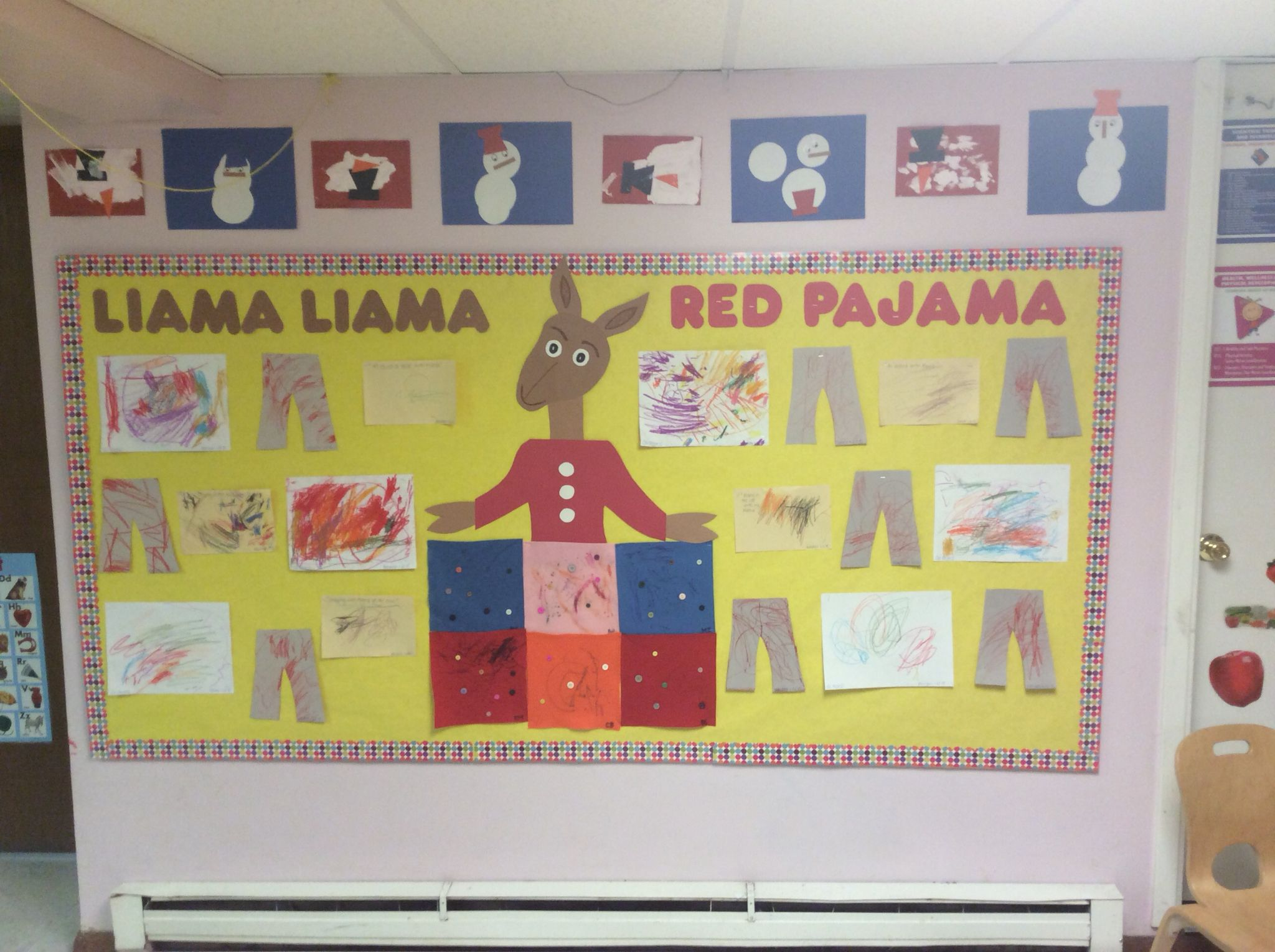 Llama Llama Red Pajama Two Year Old Classroom Winter