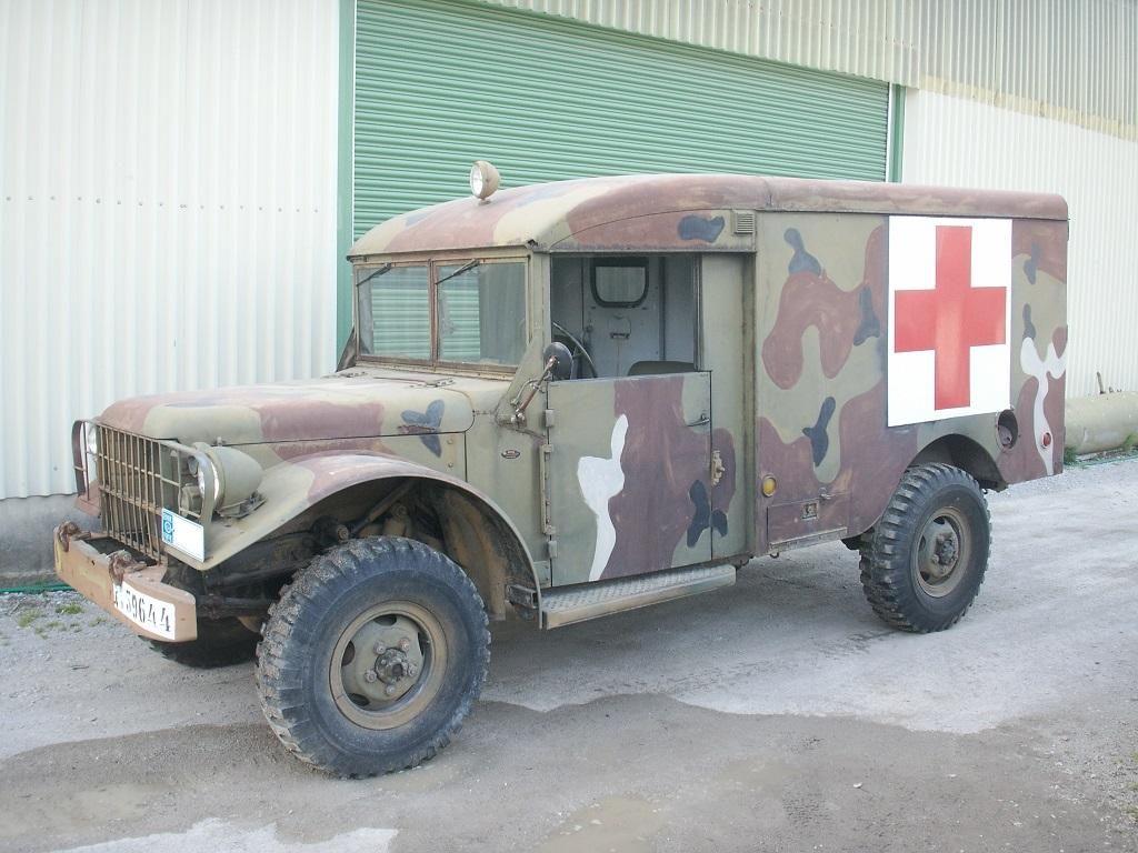 M43 truck ambulance