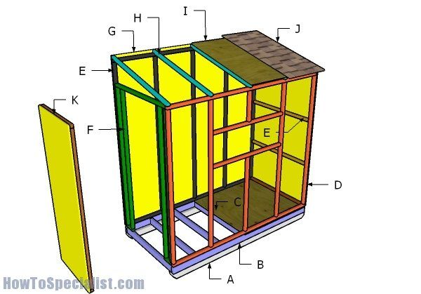 4x8 Ice Shack Roof Plans
