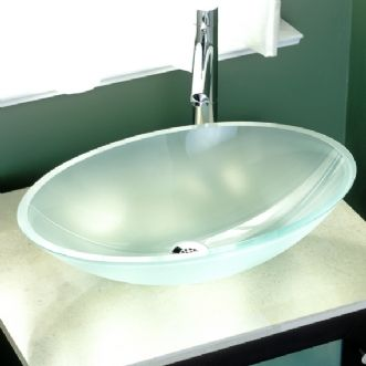 Affinity Oval Glass Sink By American Standard Via