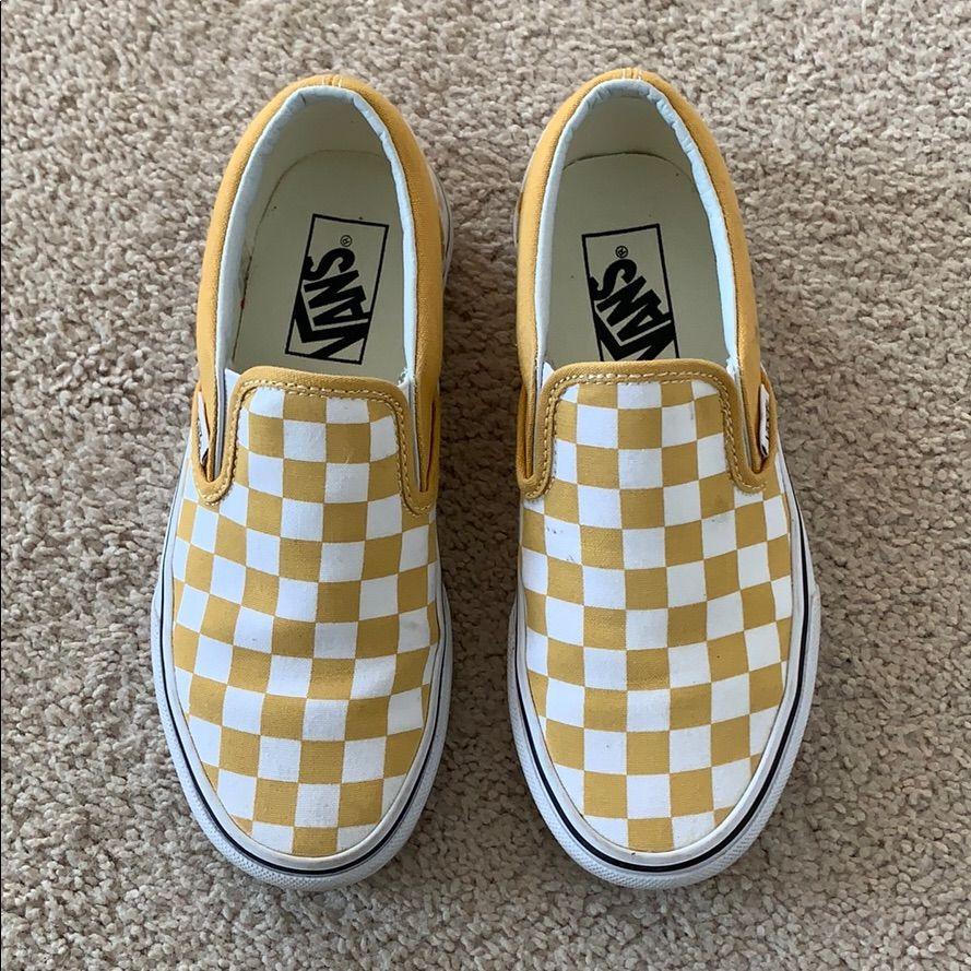 Mustard vans, Mustard yellow vans