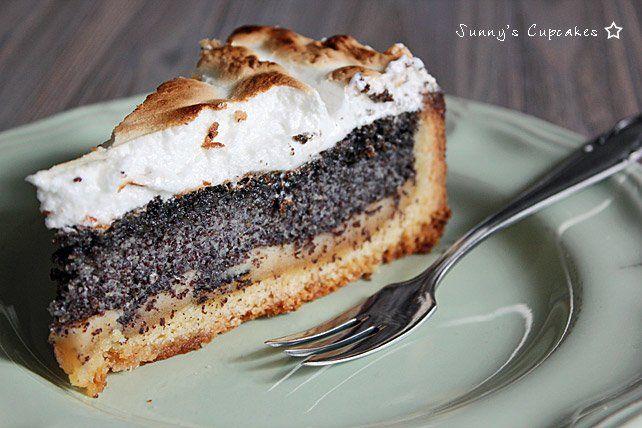 Sunny S Cupcakes Konstanz Mohn Marzipan Kuchen Mit Baiser Kuchen
