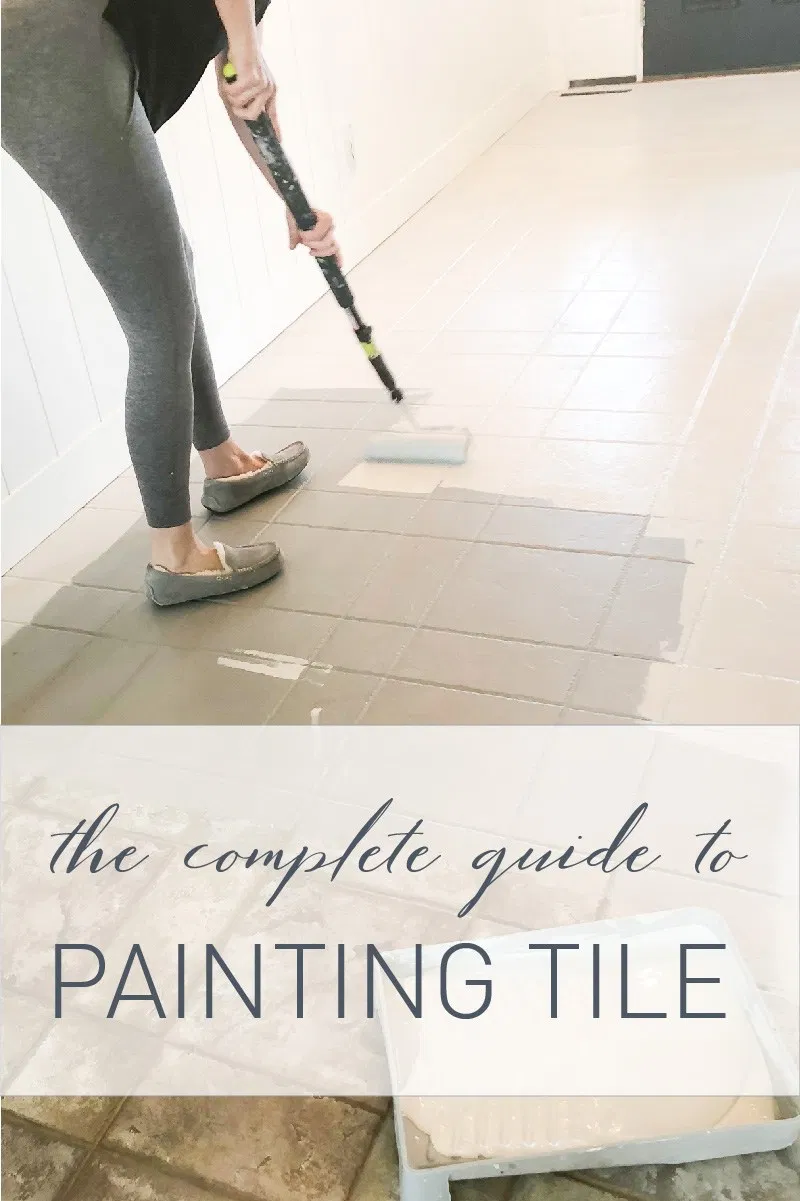 COMPLETE GUIDE TO PAINTING TILE