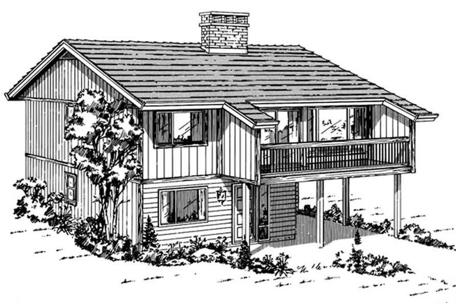 Vacation Homes House Plans Contemporary Home Design