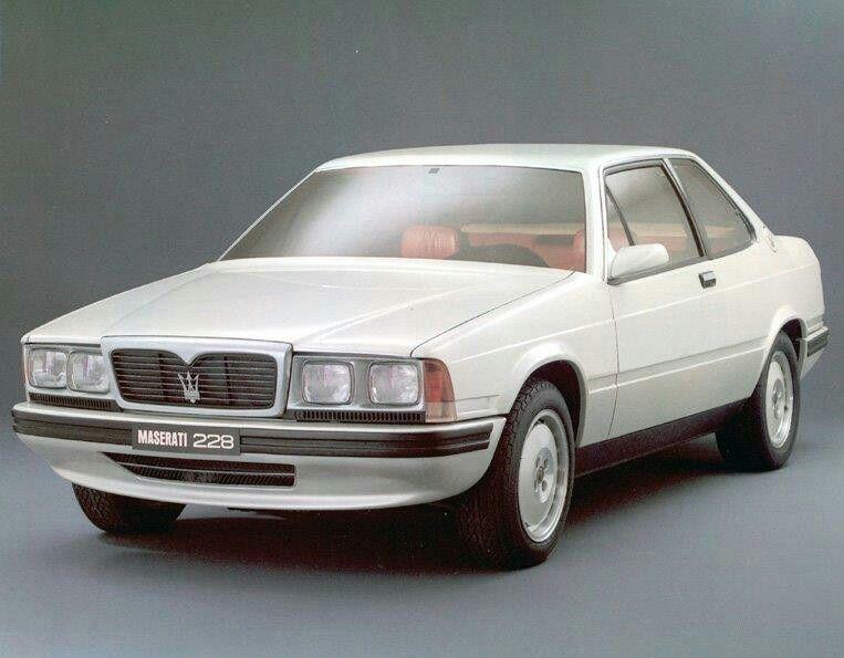 maserati-228-1988 (avec images)   Maserati, Brochure