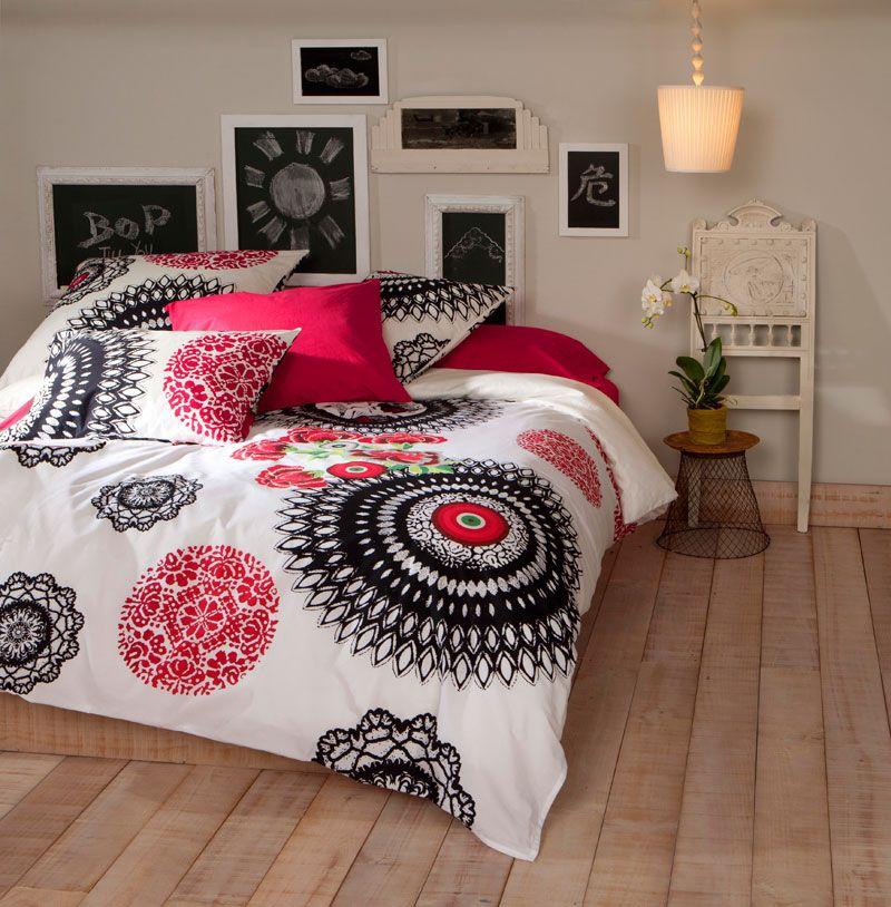 parure couette geisha desigual eric room ideas pinterest maison linge de maison et d co. Black Bedroom Furniture Sets. Home Design Ideas