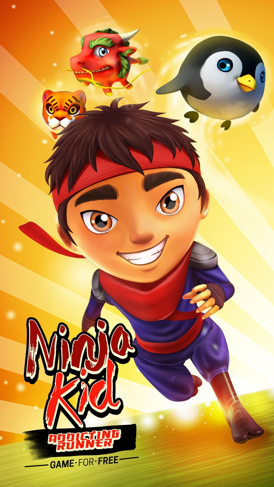 Ninja Kid Run VR Runner Game APP Kids running, Runner